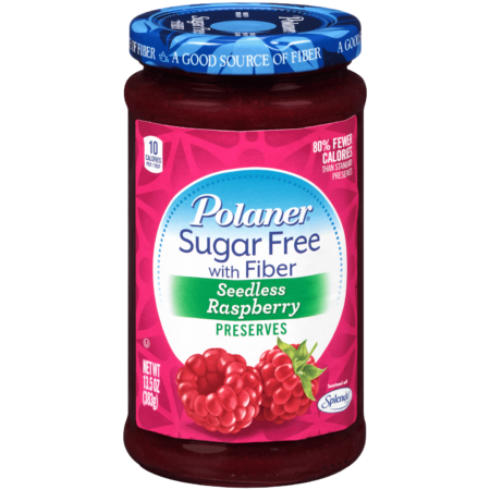 Image of Sugar Free Seedless Raspberry Preserves with Fiber